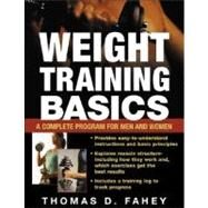 Weight Training Basics by Fahey, Thomas D., 9780071446471