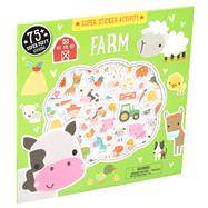 Super Sticker Activity: Farm by Machell, Dawn, 9781626866478
