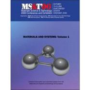 Materials Science and Technology (MS&T) 2006, Materials and Systems by Unknown, 9780873396479