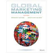 Global Marketing Management by Kotabe, Masaaki; Helsen, Kristiaan, 9781118466483