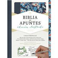 RVR 1960 Biblia de apuntes, edición ilustrada, tela en rosado y azul by Unknown, 9781462746484