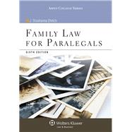 Family Law for Paralegals by Ehrlich, 9781454816485