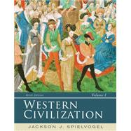 Western Civilization Volume I: To 1715 by Spielvogel, Jackson J., 9781285436487