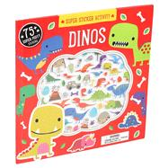 Super Sticker Activity: Dinos by Machell, Dawn, 9781626866492