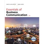 Essentials of Business Communication by Guffey, Mary Ellen; Loewy, Dana, 9781337386494