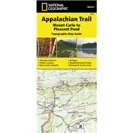 National Geographic Appalachian Trail, Mount Carlo to Pleasant Pond, Maine Topographic Map Guide by National Geographic Society (U. S.), 9781597756495