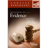 Principles of Evidence by Lilly, Graham; Capra, Daniel; Saltzburg, Stephen, 9781634596497