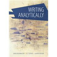 Writing Analytically by Rosenwasser, David; Stephen, Jill, 9781285436500