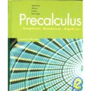 Precalculus: Graphical, Numerical, Algebraic by Demana, Franklin D.; Waits, Bert K.; Foley, Gregory D.; Kennedy, Daniel, 9780132276504