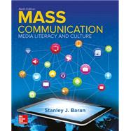 Looseleaf Introduction to Mass Communication: Media Literacy and Culture by Baran, Stanley, 9781259376504