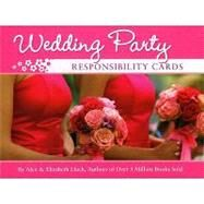 Wedding Party Responsibility Cards by Lluch, Elizabeth, 9781934386507