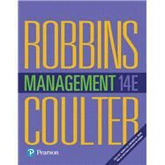 Management Plus MyLab Management with Pearson eText -- Access Card Package by Robbins, Stephen P.; Coulter, Mary A., 9780134636511
