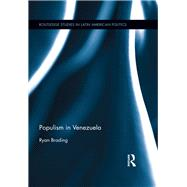 Populism in Venezuela by Brading; Ryan, 9781138886513