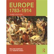 Europe 1783û1914 by Simpson; William, 9781138786516