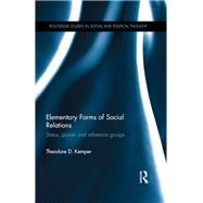 Elementary Forms of Social Relations: Status, power and reference groups by Kemper; Theodore D., 9781138696518