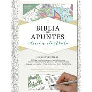 RVR 1960 Biblia de apuntes, edición ilustrada, blanco en tela para colorear by Unknown, 9781462746521