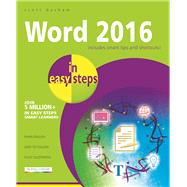Word 2016 in Easy Steps by Basham, Scott, 9781840786521