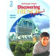 Discovering French Nouveau: Student Edition Level 2 by Valette, Jean-Paul; Valette, Rebecca M., 9780618656523