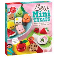 Sew Mini Treats by Unknown, 9780545906524