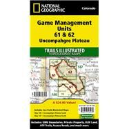 Uncompahgre Plateau Gmu by National Geographic Maps; Trails Illustrated, 9781597756525
