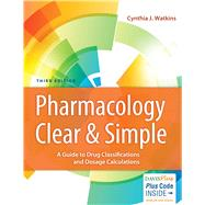 Pharmacology Clear & Simple by Watkins, Cynthia J., RN, 9780803666528