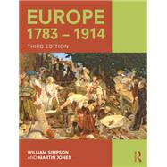 Europe 1783û1914 by Simpson; William, 9781138786530