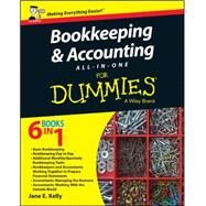 Bookkeeping and Accounting All-in-one for Dummies: Uk Edition by Kelly, Jane E., 9781119026532