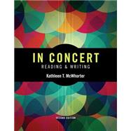 In Concert An Integrated Approach to Reading and Writing by McWhorter, Kathleen T., 9780133956535
