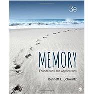Memory by Schwartz, Bennett L., 9781506326535