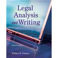 Legal Analysis and Writing by Putman, William H., 9781133016540