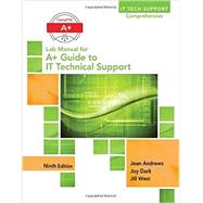 Lab Manual for Andrews' A+ Guide to IT Technical Support, 9th Edition by Andrews, Jean, 9781305266544
