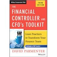 The Financial Controller and CFO's Toolkit by Parmenter, David, 9781119286547