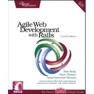 Agile Web Development with Rails by Ruby, Sam, 9781934356548