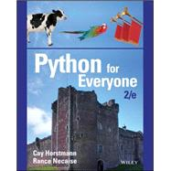 Python for Everyone by Horstmann, Cay; Necaise, Rance, 9781119056553