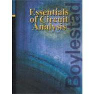 Essentials of Circuit Analysis by Boylestad, Robert L., 9780130616555