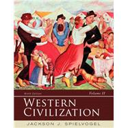 Western Civilization: Volume II: Since 1500 by Spielvogel, 9781285436555