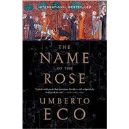 The Name of the Rose by Eco, Umberto, 9780544176560