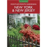 New York & New Jersey Month-by-month Gardening by Copsey, Kate, 9781591866572