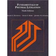 Fundamentals of Pretrial Litigation by Haydock, Roger S.; Herr, David F.; Stempel, Jeffrey W., 9780314286574