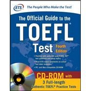 Official Guide to the TOEFL Test With CD-ROM, 4th Edition by Unknown, 9780071766586