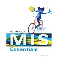MIS Essentials by Kroenke, David M., 9780133546590