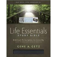 Life Essentials Study Bible, Black Bonded Leather Indexed by Unknown, 9781433616594