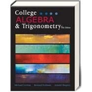 College Algebra and Trigonometry Bundle by Levitan, Kolmanm, 9781618826596