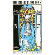 Miniature Rider Waite Tarot Deck by Waite, Arthur Edward, 9780913866597