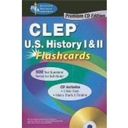 CLEP History of the United States I & II: Flashcards by Bach, Mark, 9780738606606