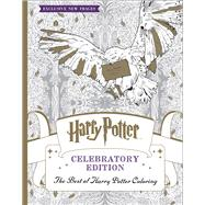 The Best of Harry Potter Coloring: Celebratory Edition (Harry Potter) by Unknown, 9781338166606