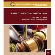 Employment and Labor Law by Cihon, Patrick J.; Castagnera, James Ottavio, 9781133586609