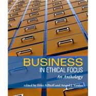 Business in Ethical Focus by Allhoff, Fritz; Vaidya, Anand J., 9781551116617