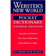 Webster's New World Pocket Dictionary by Houghton Mifflin Harcourt, 9780544986619