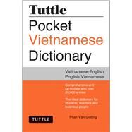Tuttle Pocket Vietnamese Dictionary: Vietnamese-english English-vietnamese by Giuong, Phan Van, 9780804846622